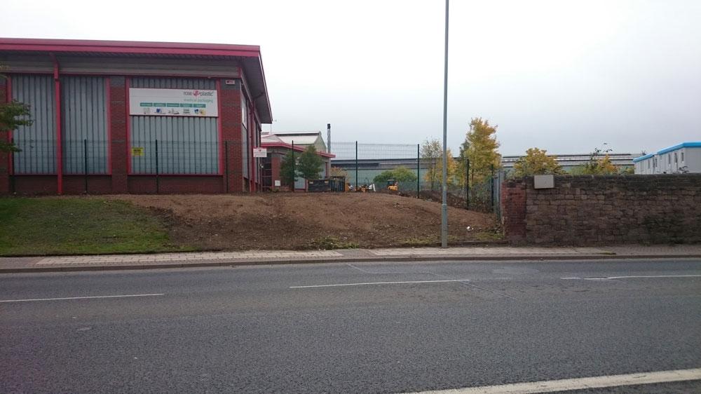 after commercial landscaper Rotherham