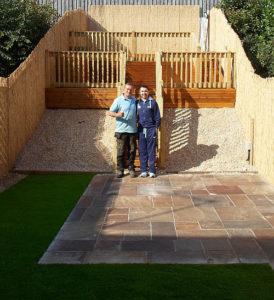 Paralympian garden designer Rotherham