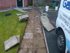 pathway refurbishment Rotherham