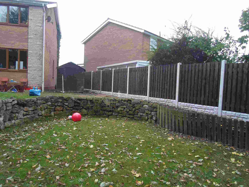 Fencing in Tickhill, Doncaster